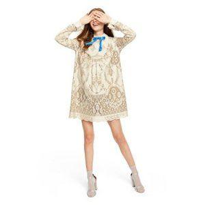 Anna Sui Target Dress minis Blue Tie